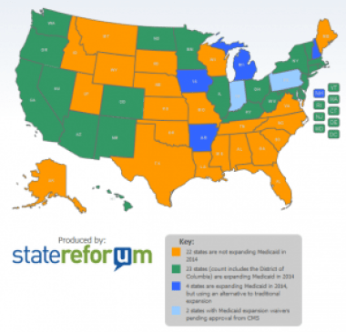 Medicaid expansion map-statereforum
