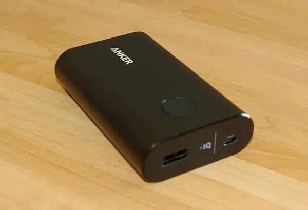 La batterie externe Anker PowerCore+ 10050