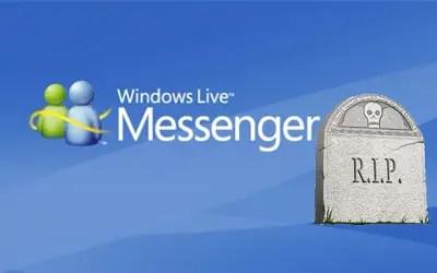 fin MSN Windows Live Messenger skype Microsoft