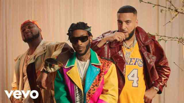 Angel taps Americam rapper French Montana and Nigeria Afropop singer Davido to sing for masses on the new joint titled