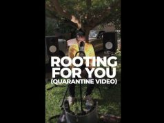 "Tio Nason – ""Rooting For You"" [Quarantine Video]"
