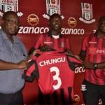 Lawrence Lungu signs for Zanaco