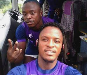 Nkana football club player Walter Bwalya