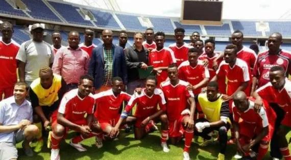 Buildcon football club squad