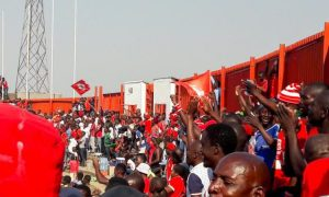 Nkana football club fans