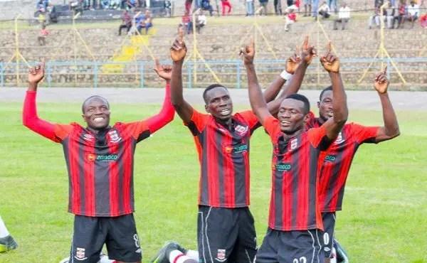 Adamson Mulao scored a brace against Nchanga Rangers