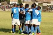 Kabwe Warriors celebrates after winning their first game of 2017