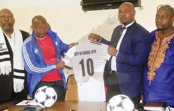 City of lusaka coach Majaka