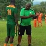 Coach George Chilifya of Green Eagles Football Club