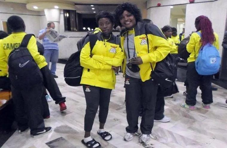 Former Zambia national women team coach Enala Phiri
