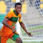 Zambian footballer Lubambo Musonda