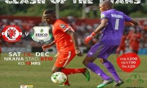 Nkana preps for Zesco United