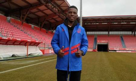 Patrick Gondwe is a new rising star in the Zambian football
