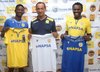 David Owino and Enock Sabumukama have joined Napsa Stars