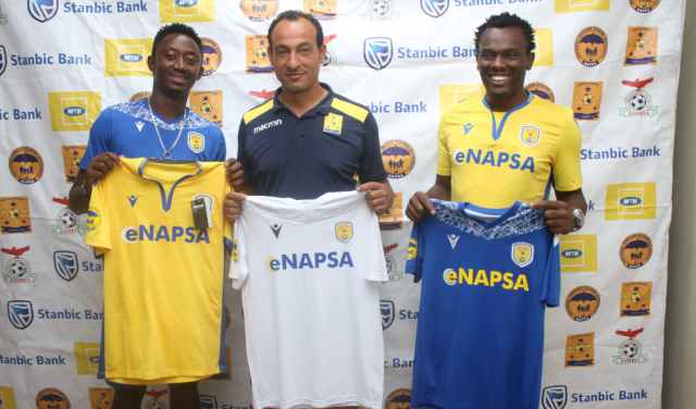 David Owino and Enock Sabumukama have joined Napsa Stars