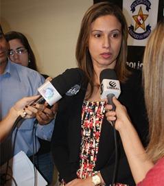 Delegada Chistiane Lobato