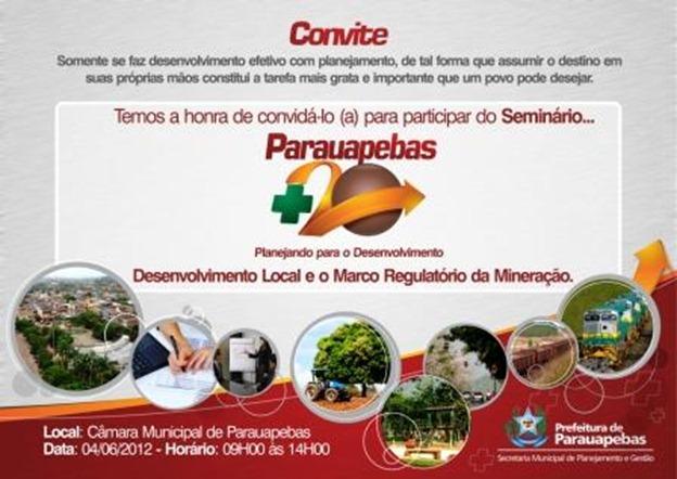 Convite - Parauapebas  20