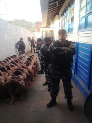 Tentativa de fuga na carceragem do Rio Verde