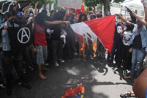 Protestos em Belém no 7 de Setembro