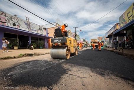Operação tapa buracos Semob Parauapebas - Foto ASCOM PMP