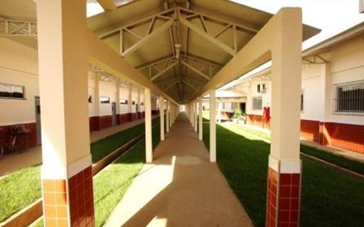 Escola Estadual Anísio Teixeira, que será entregue pelo governador amanhã, 2, em Marabá  FOTO: ANTÔNIO SILVA/ AG. PARÁ DATA: 30.04.14 MARABÁ-PARÁ