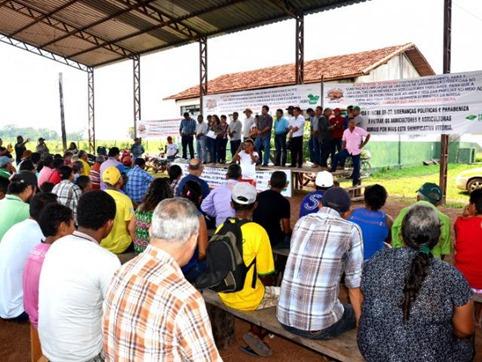 Famílias comemoram a criação do assentamento Jahú - Crédito  Ascom -Incra Marabá