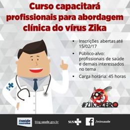 Curso sobre Zika vírus_Divulgação