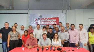Secretariado de Darci Lermen é apresentado durante coletiva de imprensa
