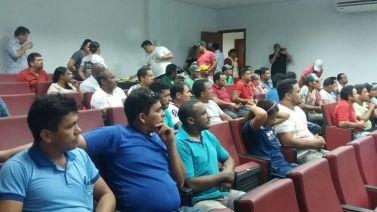 Cooperativismo é tema de palestra voltada aos serralheiros de Parauapebas