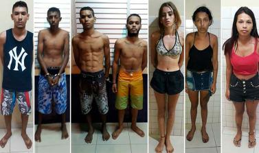 PM desmantela quadrilha de assalto e tráfico, mata dois e prende nove em Conceição