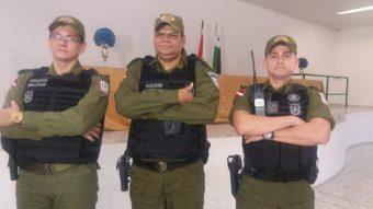 Tenente-coronel Valinoto, major Wilson e major Emmett