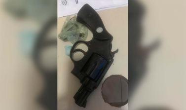 """""""Picolé"""" é preso com droga e arma de fogo em Xinguara"""