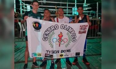 Centro Olímpico Tyson Boxe conseguiu adquirir um ringue profissional para a academia