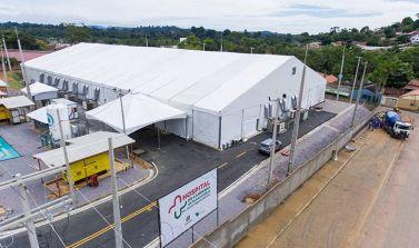 Hospital de Campanha começa a funcionar em Parauapebas