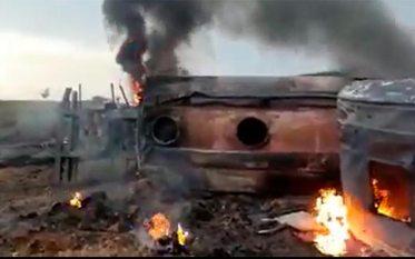 Eldorado do Carajás: Caminhão tanque tomba, pega fogo e motorista morre carbonizado