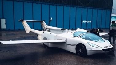 Carro voador conclui testes de voo com sucesso
