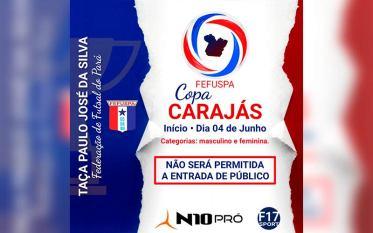 Parauapebas vai sediar a 1ª Copa Carajás de Futsal com partidas no Ginásio Poliesportivo