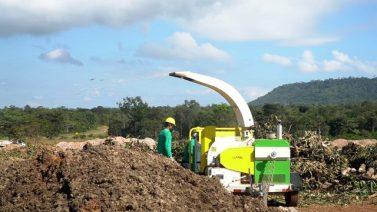 Prefeitura de Canaã inaugura usinas para reciclagem de resíduos da construção civil