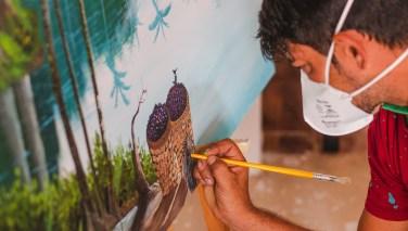 Programa Residência apresenta exposição on-line de obras produzidas por artistas de Parauapebas