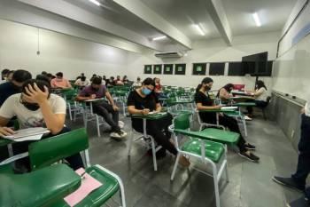 Mais de 30 mil candidatos fazem prova para cargo de delegado da PC do Pará