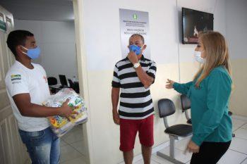 Marabá: Assistência Social entrega cestas básicas para rabeteiros