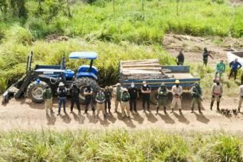 """Operação """"Amazônia Viva"""" flagra área de mais de 11,5 mil hectares desmatada ilegalmente no Pará"""