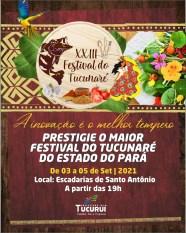 Tucuruí realiza a 23ª edição do Festival do Tucunaré
