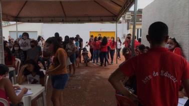 Mais de 500 adolescentes já foram imunizados em Jacundá