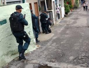 Policiais do Pará fazem curso em tática de combate em morro do Rio de Janeiro