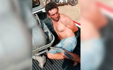 Polícia Militar prende homem flagrado por vizinhos furtando botijões de gás