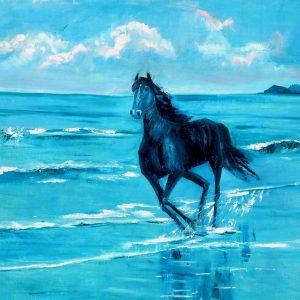 Twilight Horse