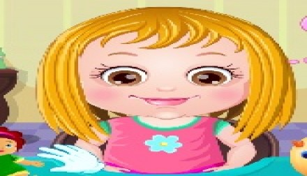 Baby   Zee Games Girl Games and Baby Games Baby Hazel Hair Care