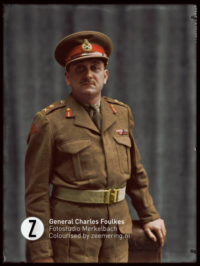 Charles Foulkes, (3 January 1903 – 12 September 1969) was a British-Canadian soldier