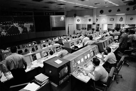 Apollo 10 Mission Control Center